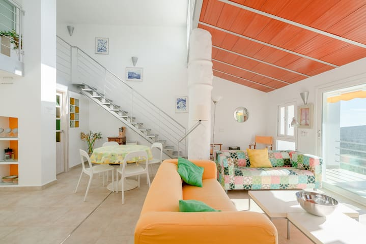 Modern Holiday Apartment Uva Blanca with Mountain View, Wi-Fi, Balcony, Terrace, Shared Garden & Shared Pool; Parking Available