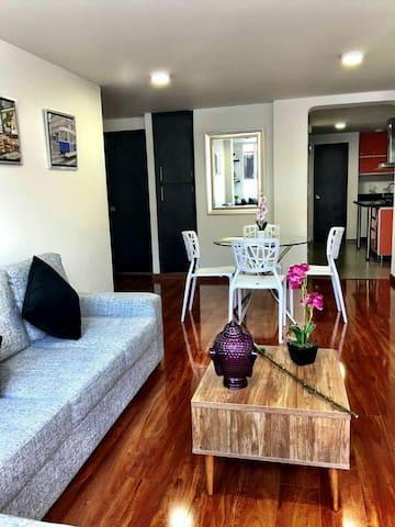 LUX apartamento ZONA SANTA BARBARA! - Bogotá - Apartment