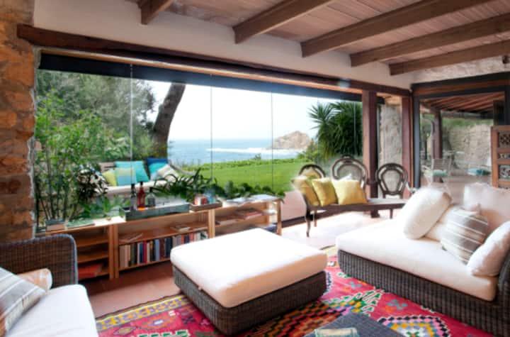 Seafront Garden Villa in Tuscany Argentario Bay