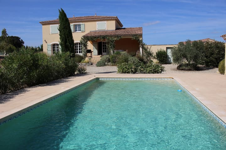 Villa 8 personnes en Drome provençale