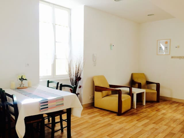 Beautiful Sunny Apt in the heart of Wine Country! - Blaye - 公寓