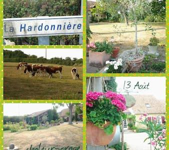 Grande maison tout confort à la campagne, - Saint-Christophe-en-Champagne - Hus