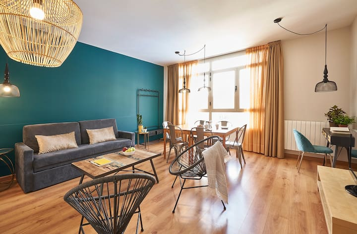 Modern Spacious 3BR apartment in Sants for months