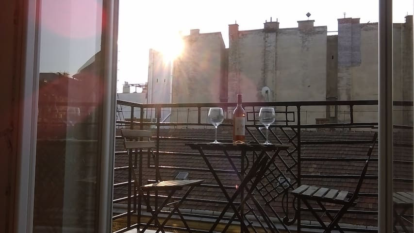 !!A/C! !TERRACE!! Brand New Flat in Jewish Quarter - Budapest - Appartement