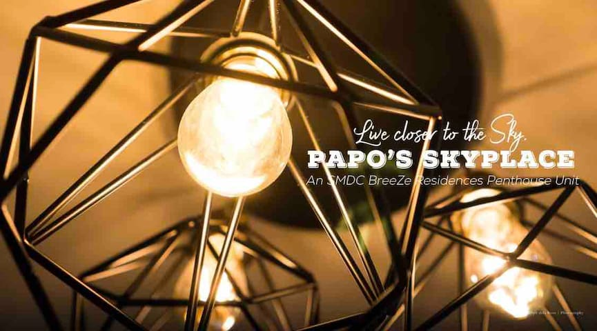 Papo's Sky Place  (An SMDC Breeze Penthouse Unit)