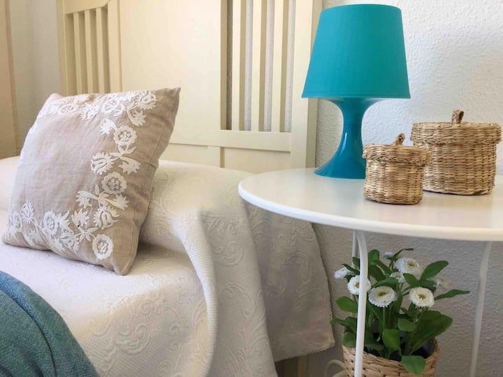Relax en un encantador apartamento frente al mar