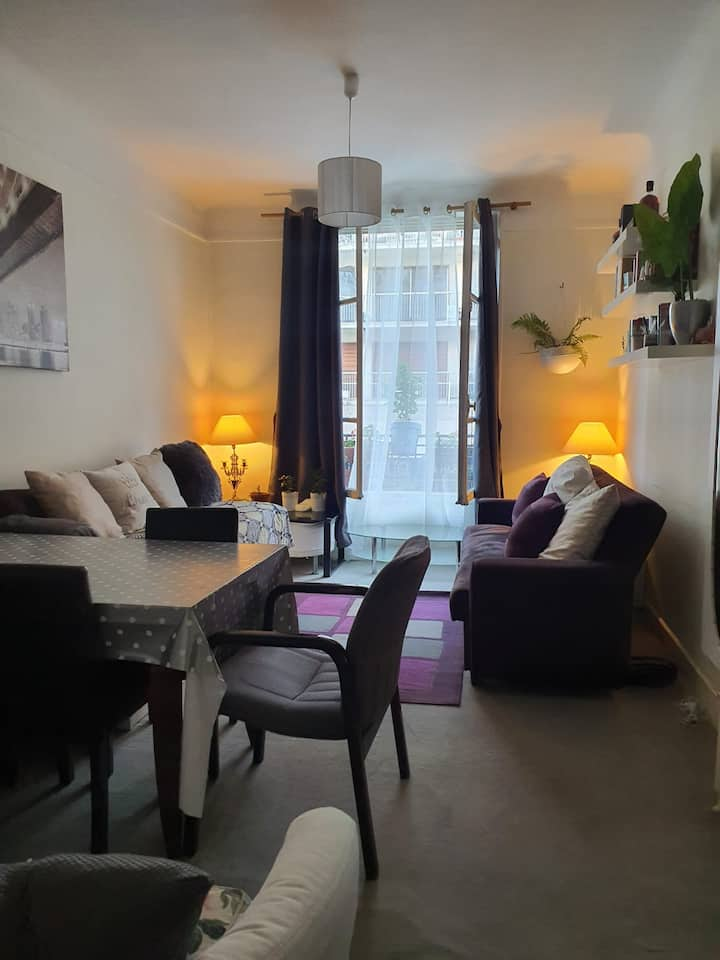 Appartement 50e near by Eiffel Tower