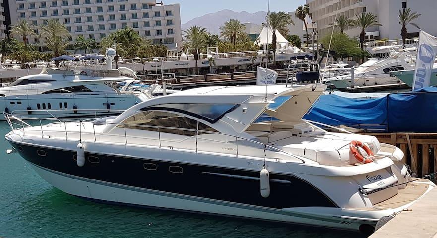 """Luxury """"Ocean"""" Yacht in Eilat"""
