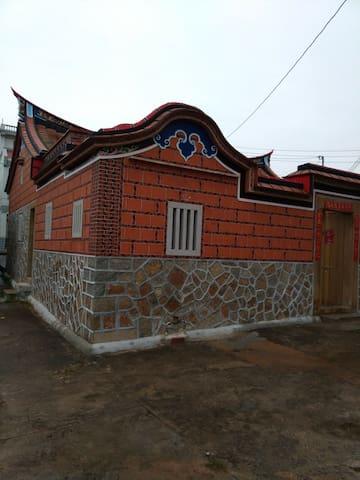 閩南建築,閣樓雙人床,兩張床 - Kinmen County - Dom