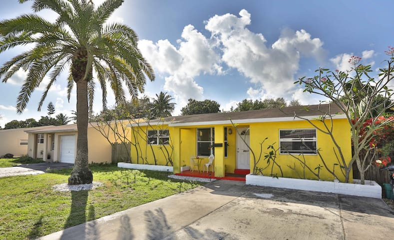 Relaxing getaway home near beaches - Hollywood - Hus