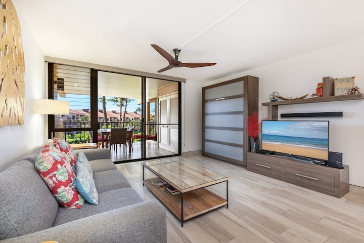 KAMAOLE SANDS 3-302-MODERN FINISHES-OCEAN VIEWS