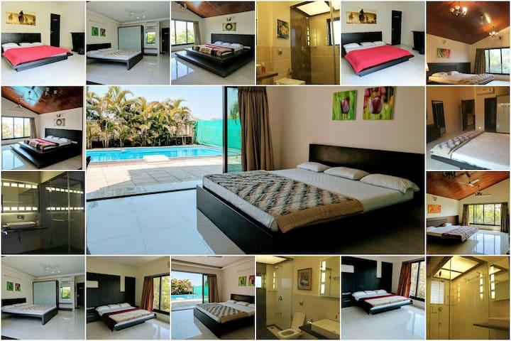 Luxurious 5BHK with Pool - Makani Villa - Lonavala - Villa