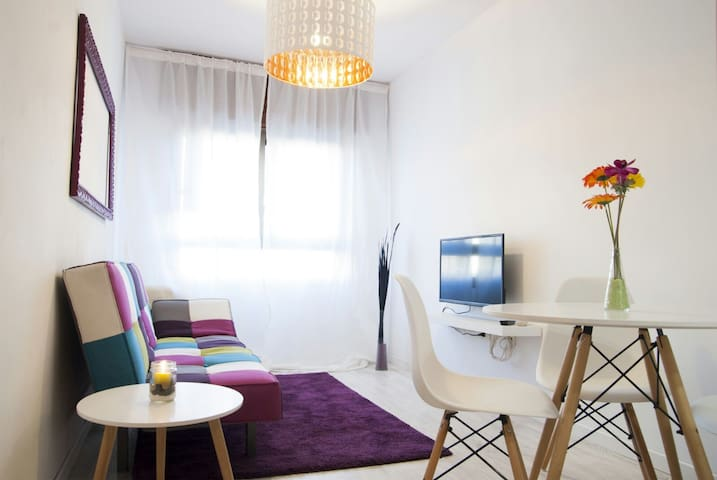 Central Apartment with Wi-Fi and SAT TV (Astra 19) - Santa Creu de Tenerife - Pis