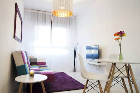 Central Apartment with Wi-Fi