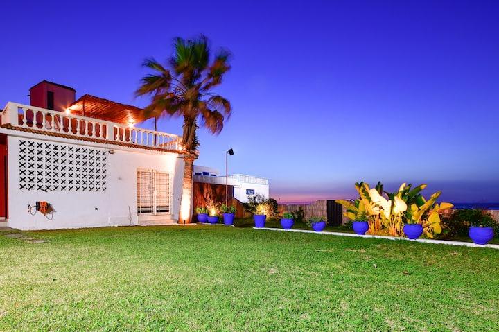 Magnifique villa au bord de l'océan Atlantique