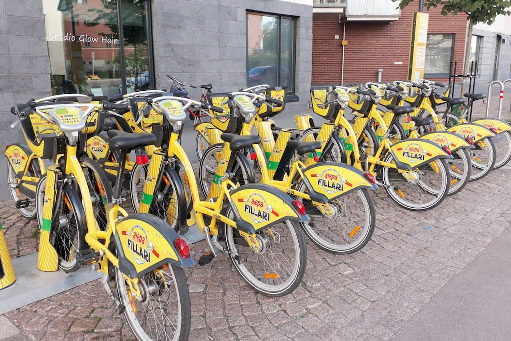 Rent a Bike next to house