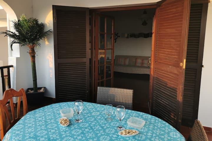 Acogedor y original apartamento en Cala'n Porter