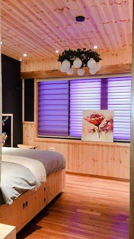 ::Modern Queen bedroom::