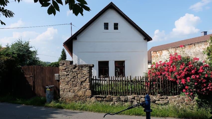 Nostalgic country house with a private garden