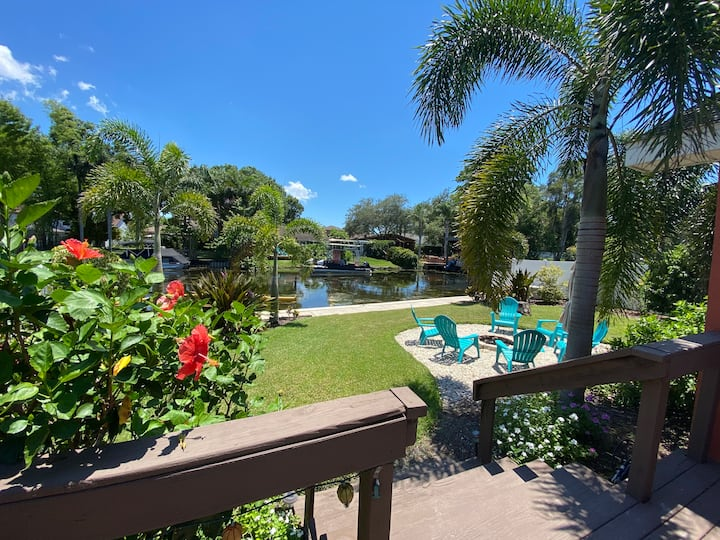 Lake Tarpon Canal House — Adventures in Paradise