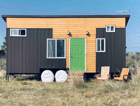 The NEW Sleeping Ute Tiny Home