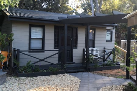 Chandlers Hill cottage on property with ocean view