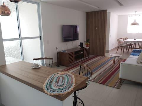 Apartamento bem situado em Contagen