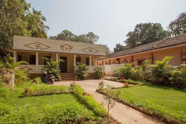 3 Bedroom Temple House near Palolem&Patnem beaches - Canacona - Hus