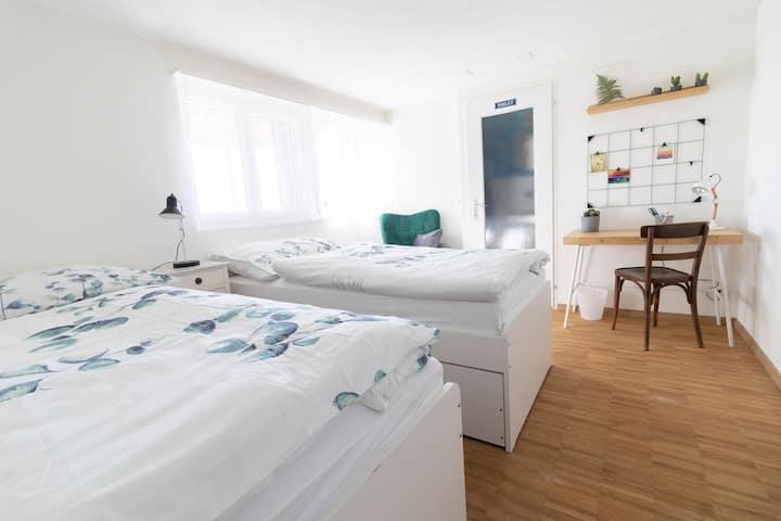 Studiowohnung in ländlicher Umgebung, nahe Bern