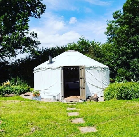 GG's Yurt at The Little Yurt Meadow