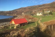 Rechullin from the Fisherman's bothy.