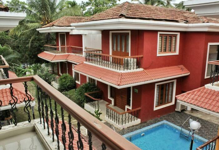 3 Bedroom Villa near Vagator Beach, Assagaon