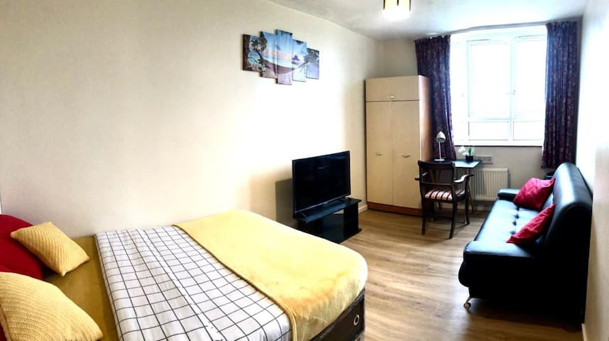 11th Floor Double Room with Shared Balcony