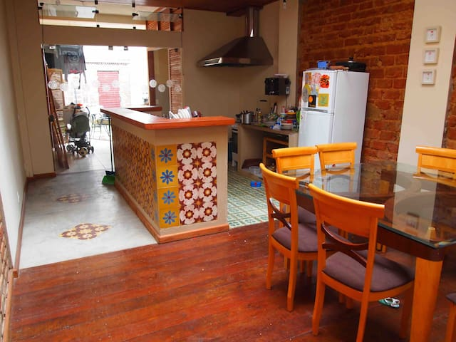Suite com varanda (Casa Mameluco) - Itacaré - Casa