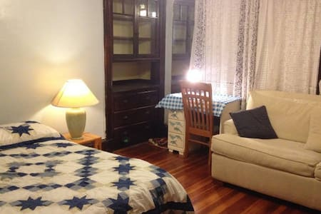 Large Bright Furnished Private Room in Newton - Newton