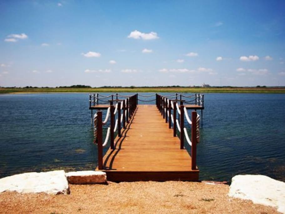 The Pier on the small lake
