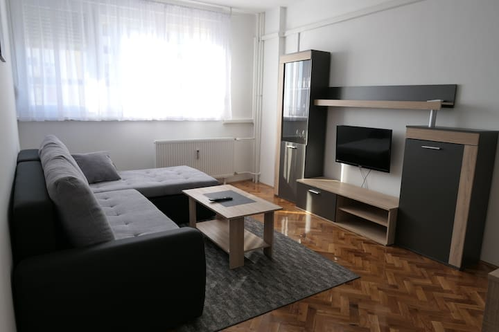 New luxury apartment in city center at main square