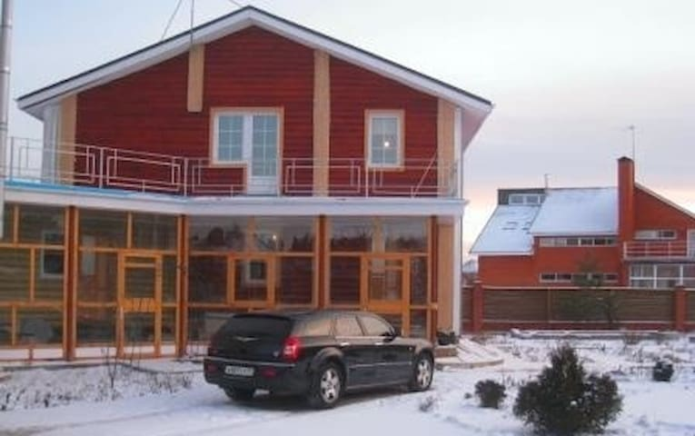 Cottage 270 sq.m. in the village of North Vladychi - Moscou