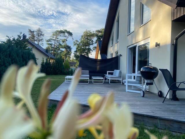 Rymlig villa i norra Mellbystrand