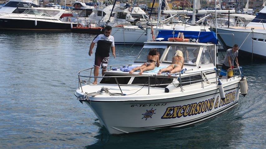 "TENERIFE   SUR  ""ANTARES"" YACHT - Golf del Sur - Barca"