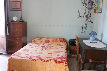 Cozy room with private bathroom and terrace - Motta Sant'Anastasia