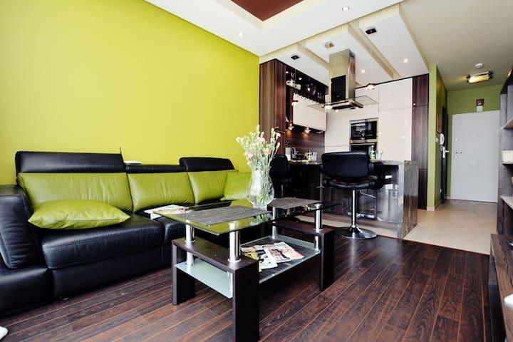 Apartament Bałtyk III 700m od plaży, 4 osoby - Grzybowo - Apartament