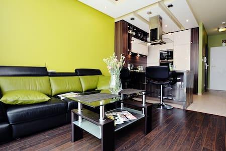 Apartament Bałtyk III 700m od plaży, 4 osoby - Grzybowo