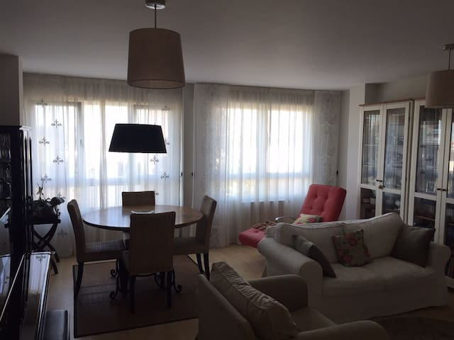 Spacious apartment with garden - Santiago de Compostela - Appartement