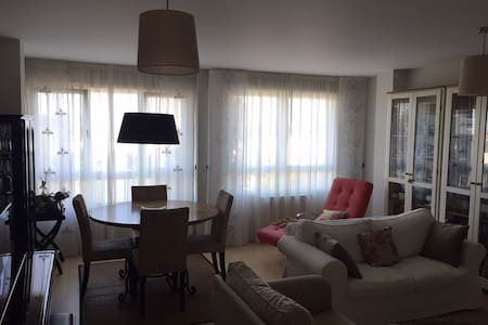 Spacious apartment with garden - Santiago de Compostela