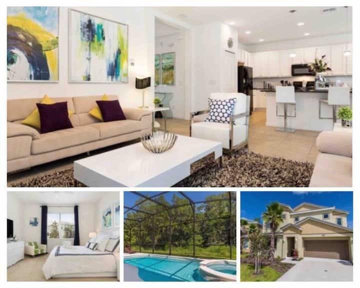 🌟Stunning 6 Bedroom Villa, private pool (4559)