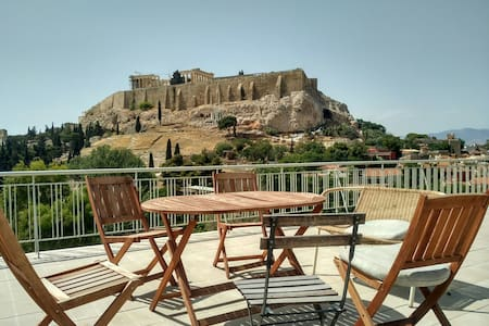 Little gem + most amazing location in Athens - Leilighet