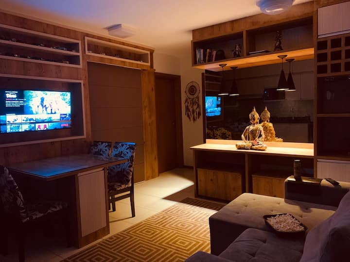 Lindo Apartamento em Jaraguá no Condomínio