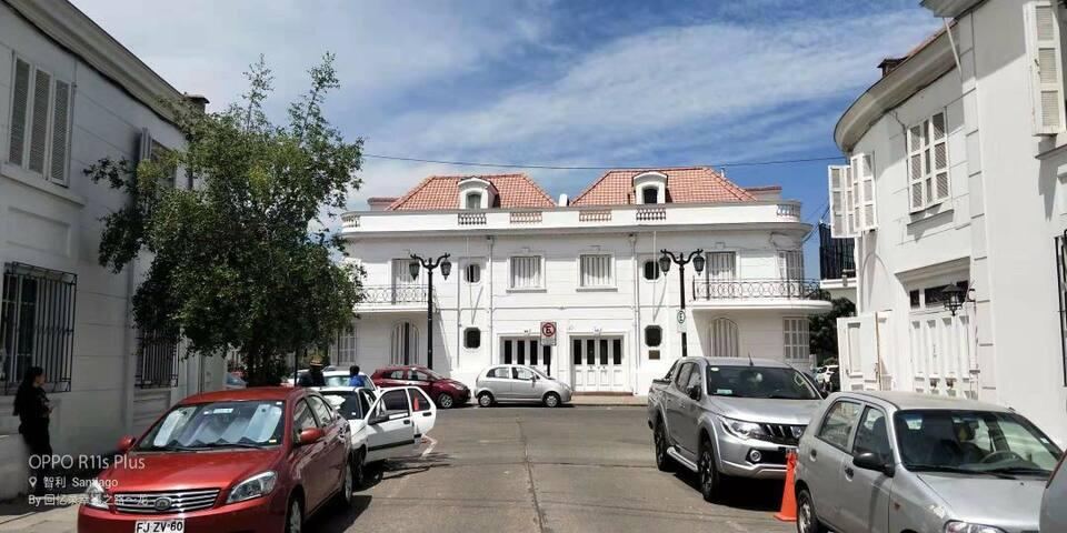 白色宫殿,美丽的古建筑