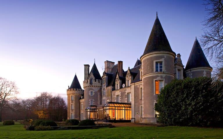 Calme et détente au Château ... - Courcelles-de-Touraine - Daire